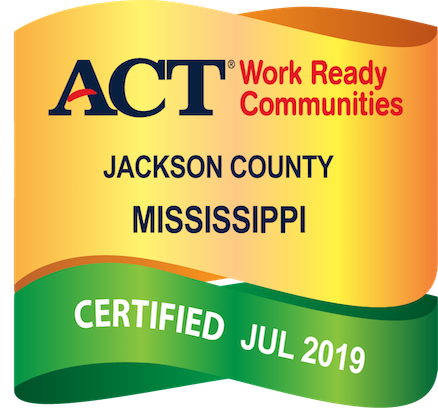 Jackson County ACT Work Ready Badge